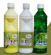 Dadaji Herbal Neem, Citro, Lemon Phenyl 500ml, 1Ltr